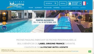 Site internet de Piscines Eau Medoc