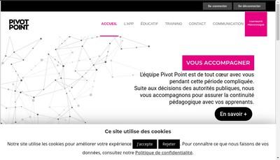 Site internet de Pivot Point Enzo
