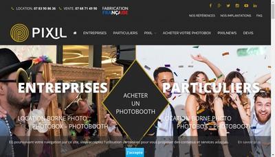 Site internet de Pixil
