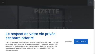 Site internet de Pizette