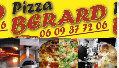 Site internet de Pizza Berard