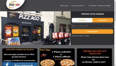 Site internet de Pizz'Ago