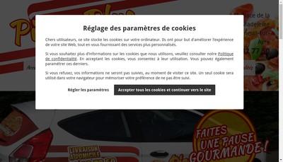 Site internet de Pizza-Plus