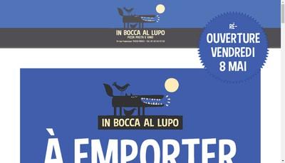 Site internet de In Bocca Al Lupo