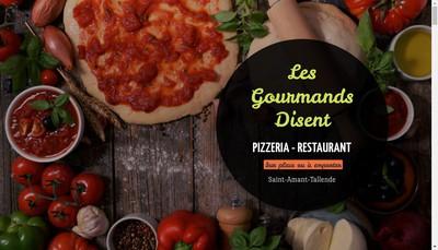 Site internet de Les Gourmands Disent