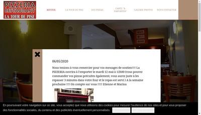 Site internet de La Tour de Pise