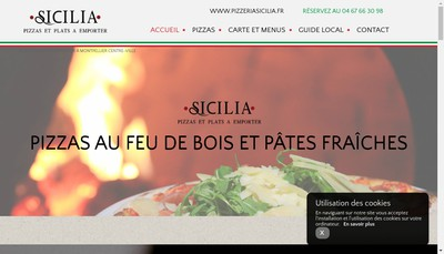 Site internet de Sicilia