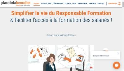Site internet de Placedelaformation Com