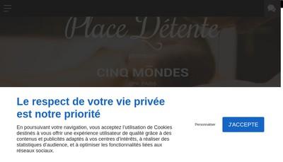 Site internet de Place Detente