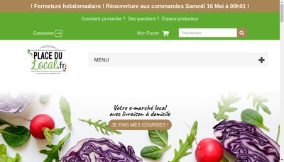 Site internet de Placedulocal Fr