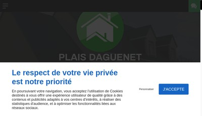 Site internet de Plais-Daguenet