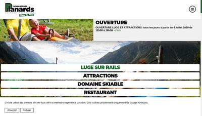 Site internet de Societe d'Equipement des Planards