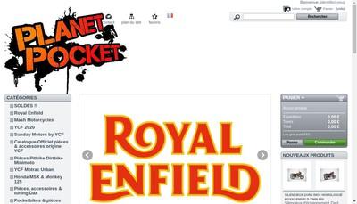 Site internet de Planet'Pocket