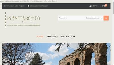 Site internet de Planetarcheo