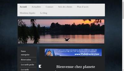 Site internet de Planete Carpe