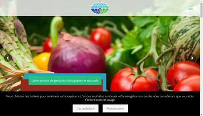 Site internet de Planete Nature