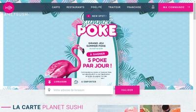 Site internet de P18 Voltaire