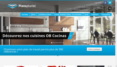 Site internet de Plans Pluriel