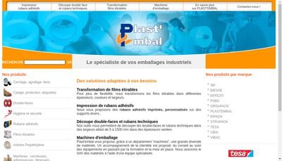 Site internet de Plast Embal