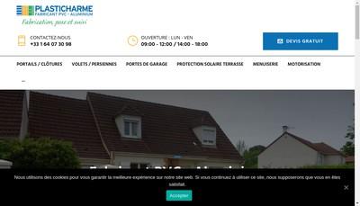Site internet de Plasticharme SARL