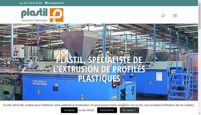 Site internet de Plastil le Joint Barthelemy