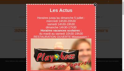 Site internet de Playbox