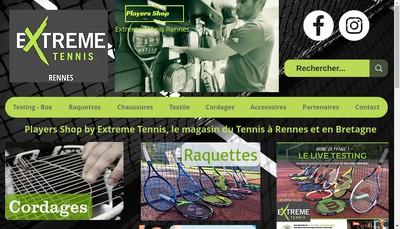 Site internet de Players Shop