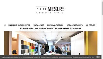 Site internet de Pleine Mesure