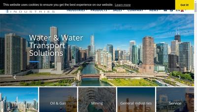 Site internet de Pleuger Industries France
