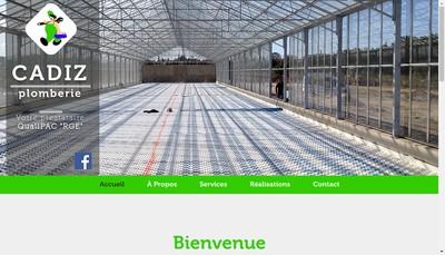 Site internet de Cadiz