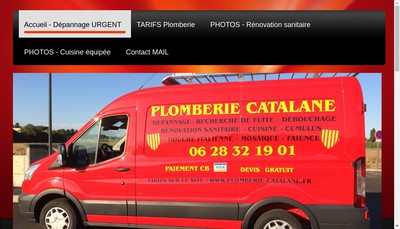 Site internet de Plomberie Catalan