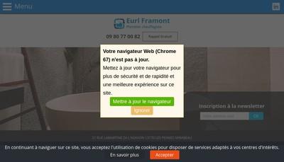 Site internet de Framont