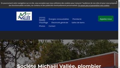 Site internet de Michael Vallee