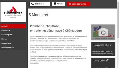 Site internet de SARL S Monneret