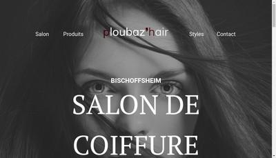 Site internet de Coiffure Ploubaz'Hair