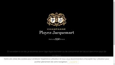 Site internet de Champ Ployez