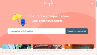 Site internet de +Simple Fr