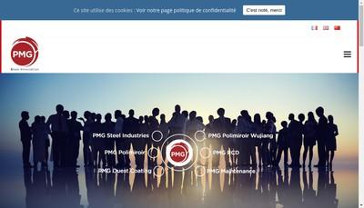 Site internet de Pmg Steel Industries