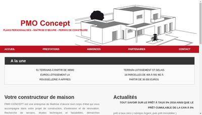 Site internet de PMO Concept