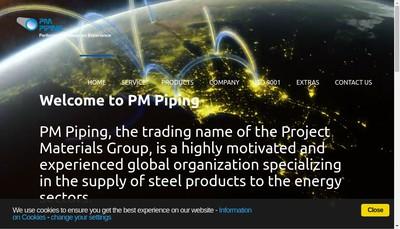 Site internet de Project Materials SAS
