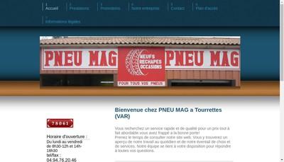Site internet de Pneu Mag