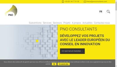 Site internet de Pno Consultants