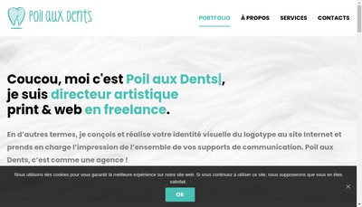 Site internet de Poil aux Dents