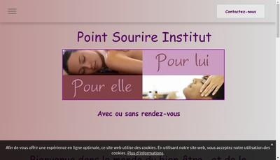 Site internet de Point Sourire