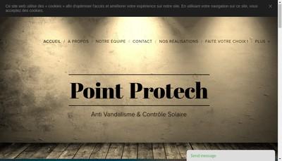 Site internet de Point Protech