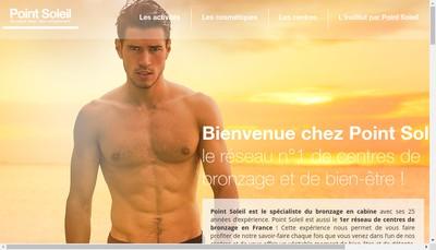Site internet de Point Soleil