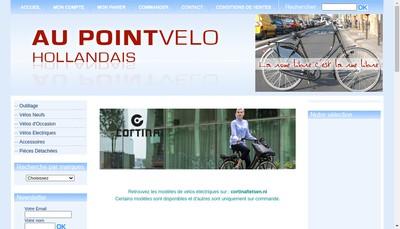 Site internet de Au Point Velo