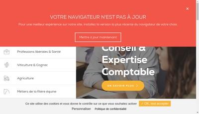 Site internet de Agc Poitou Charentes