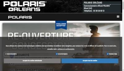 Site internet de Orleans Quad