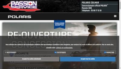 Site internet de Passion Service